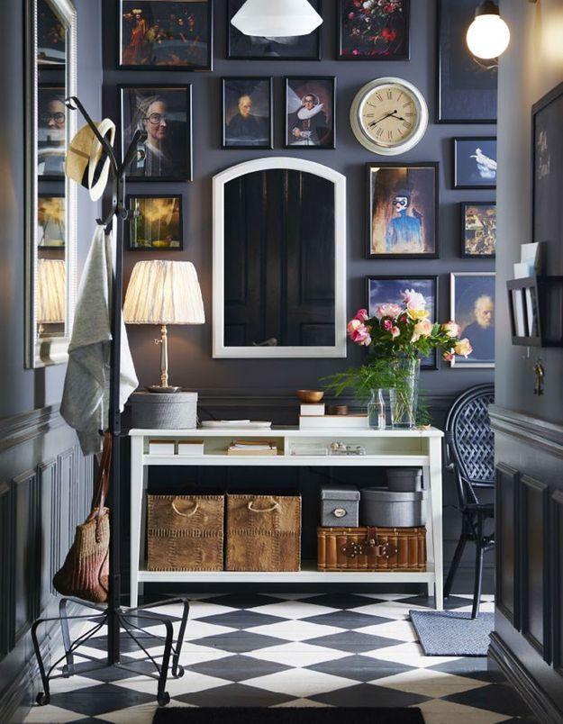 Peindre son couloir en couleur l astuce d co parfaite - Peinture pour mur de garage ...