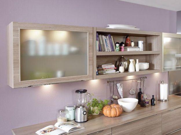 Tendance la peinture pastel s invite sur nos murs elle d coration - Peinture cuisine violet ...