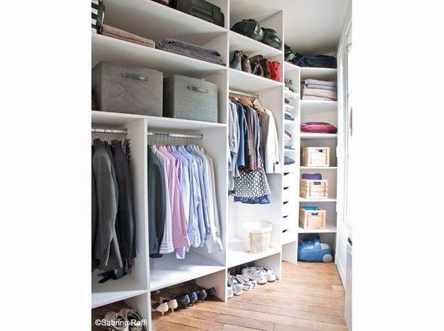 20 petits et grands dressings elle d coration. Black Bedroom Furniture Sets. Home Design Ideas