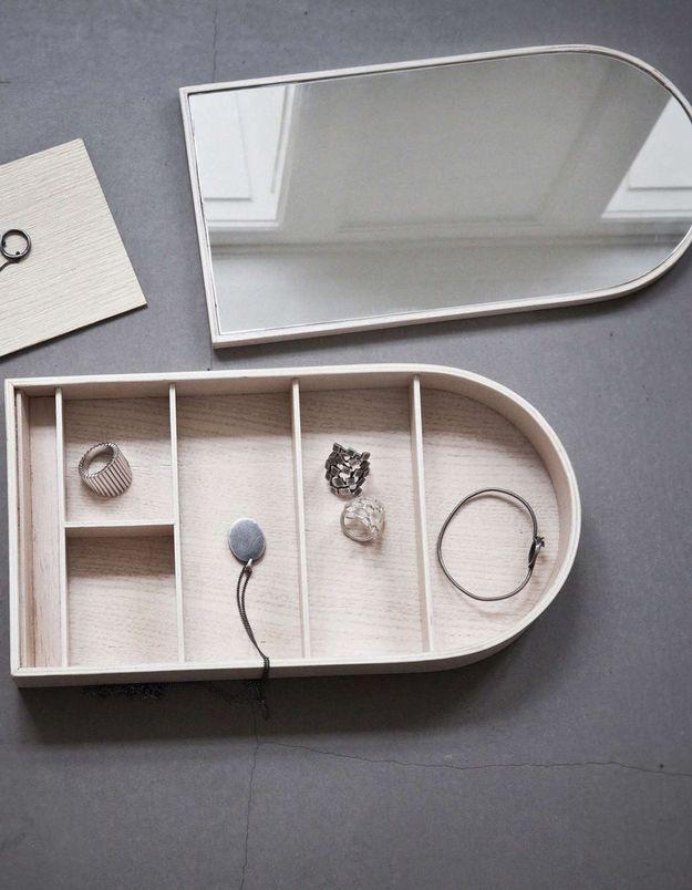 Une boîte à bijoux Menu