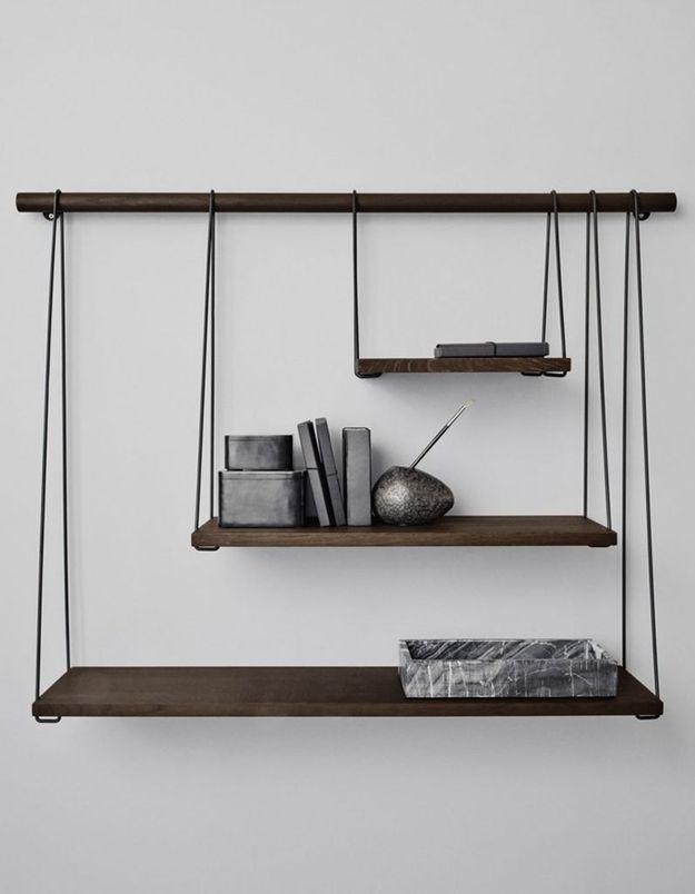 rangements murs elle d coration. Black Bedroom Furniture Sets. Home Design Ideas