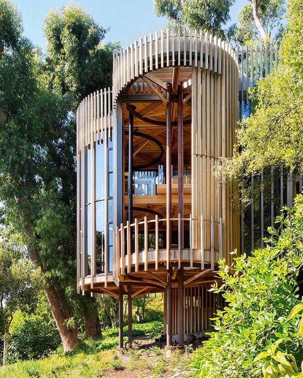 Une cabane d'architecte à l'inspiration japonaise