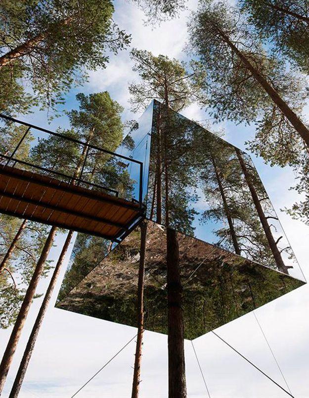 Une cabane d'architecte qui se fond dans le décor