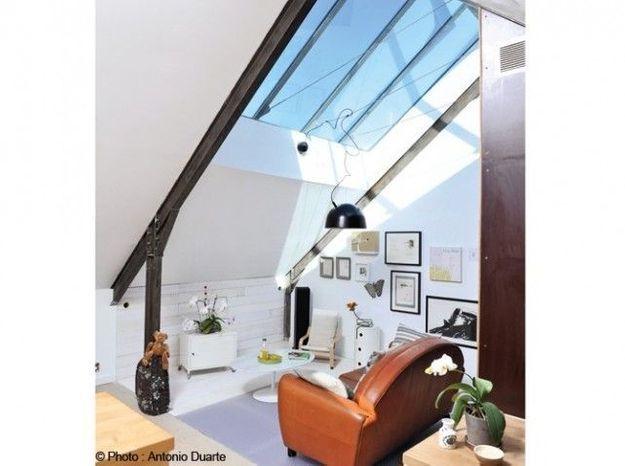 Des fenêtres design sous les combles