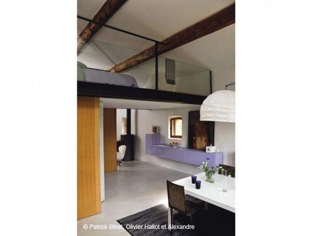 Un loft aménagé sous les combles