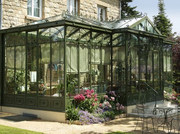 Une véranda type jardin d'hiver