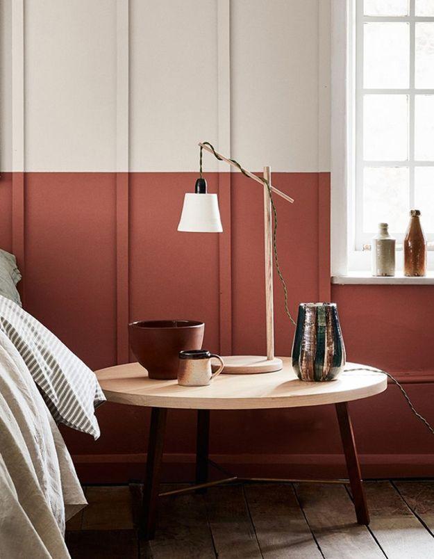 peindre un mur nos conseils pour le faire comme un pro elle d coration. Black Bedroom Furniture Sets. Home Design Ideas