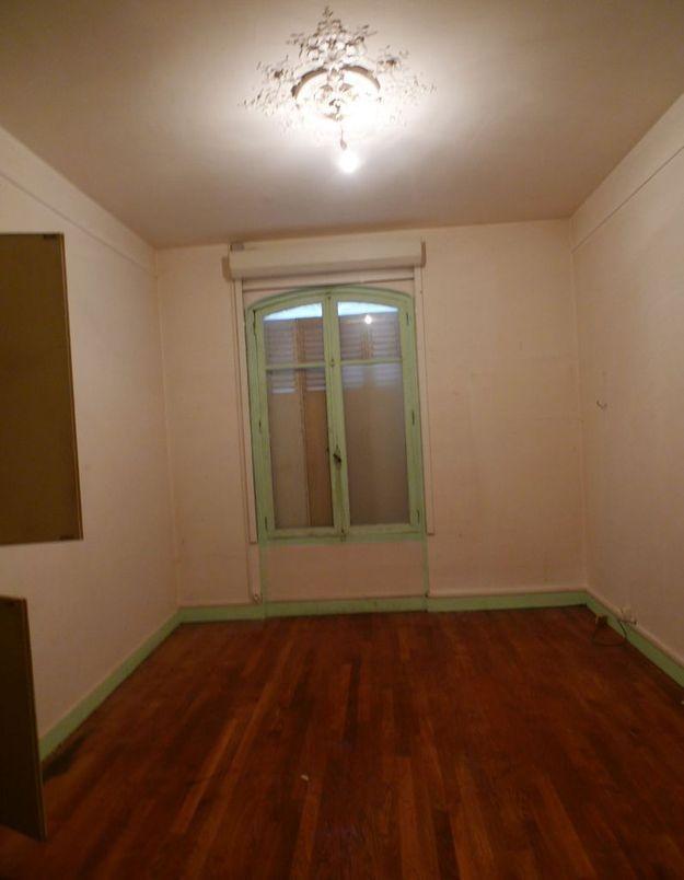 Avant : une troisième chambre vieillotte