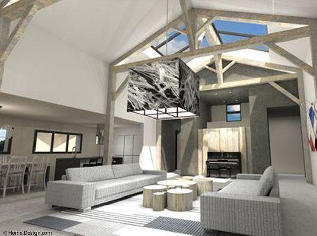 5. On associe matériaux anciens et modernes pour une ambiance loft