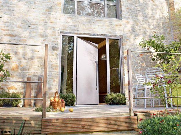 Transformer la porte de la grange en porte d'entrée