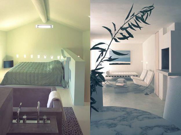 Chambre blanche design