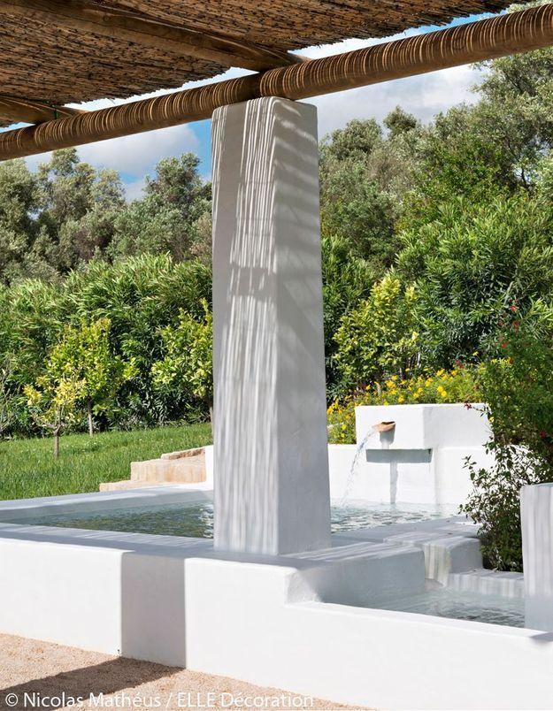 Fontaine en béton