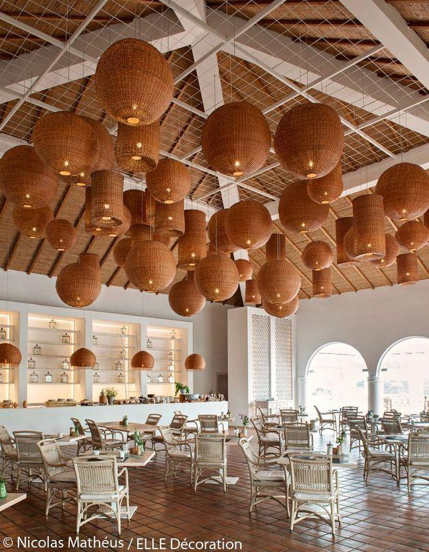 Restaurant au style bohème