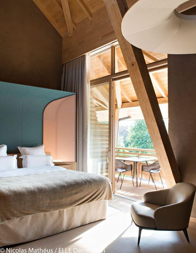 Une chambre de l'Hôtel des Berges