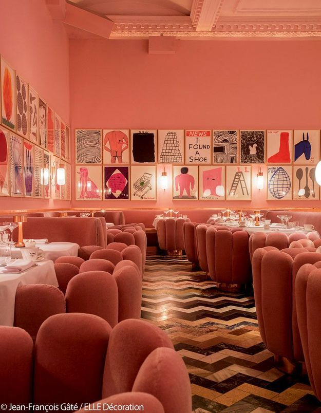 Le restaurant Sketch Gallery - Coup de blush
