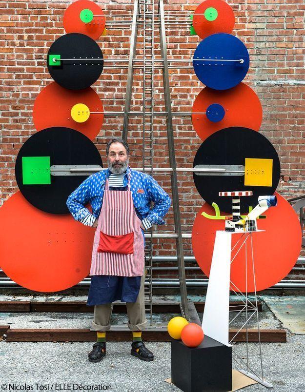 Peter Shire, céramiques graphiques