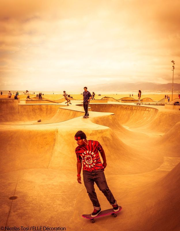 Skatepark de Venice Beach