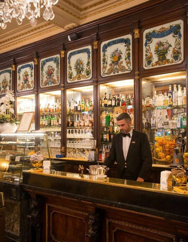 Baratti & Milano, café historique
