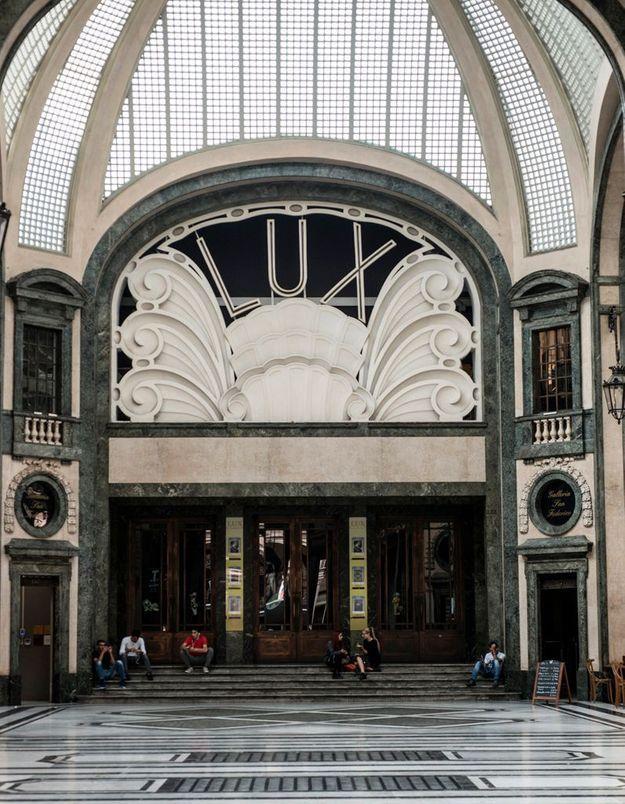 Galleria San Federico, architecture en majesté