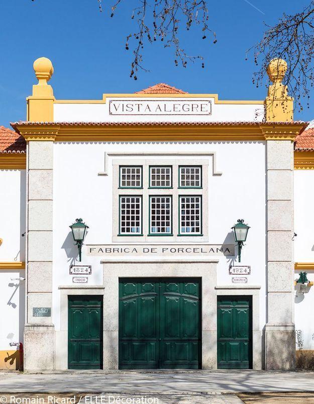 L'ancienne fabrique de porcelaine Vista Alegre