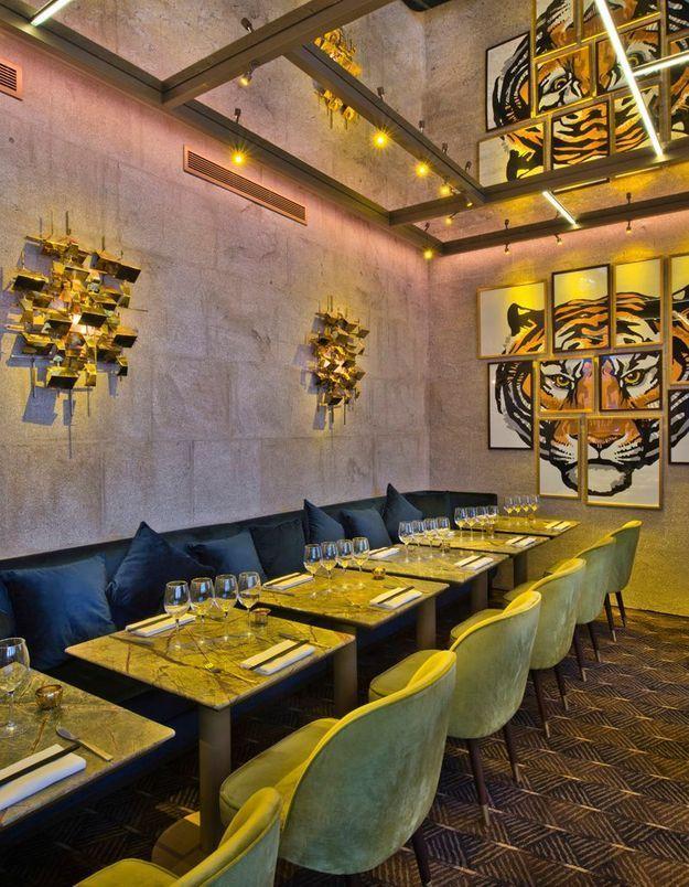 Restaurant Ginger - Les larmes du tigre