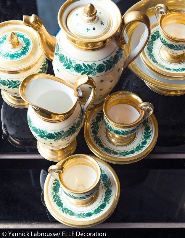 Les tables d'Eva, vaisselle précieuse