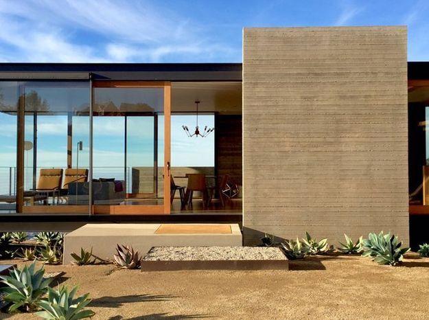 Villa retro en californie