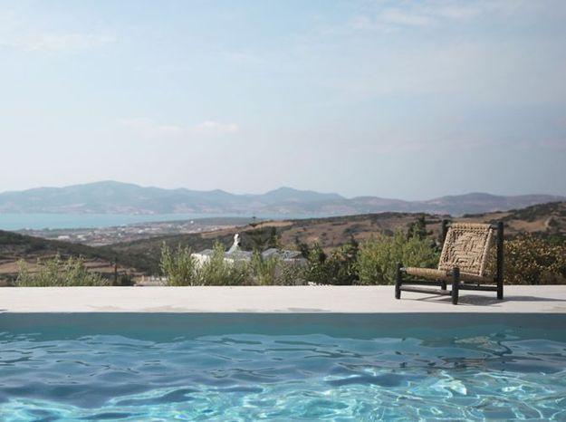 """Villa """"Acantha"""" face à la mer, Paros, Grèce"""