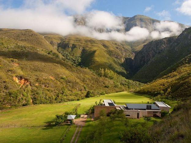 """Villa """"Lindwe"""" en pleine nature,Swellendam, Afrique du Sud"""
