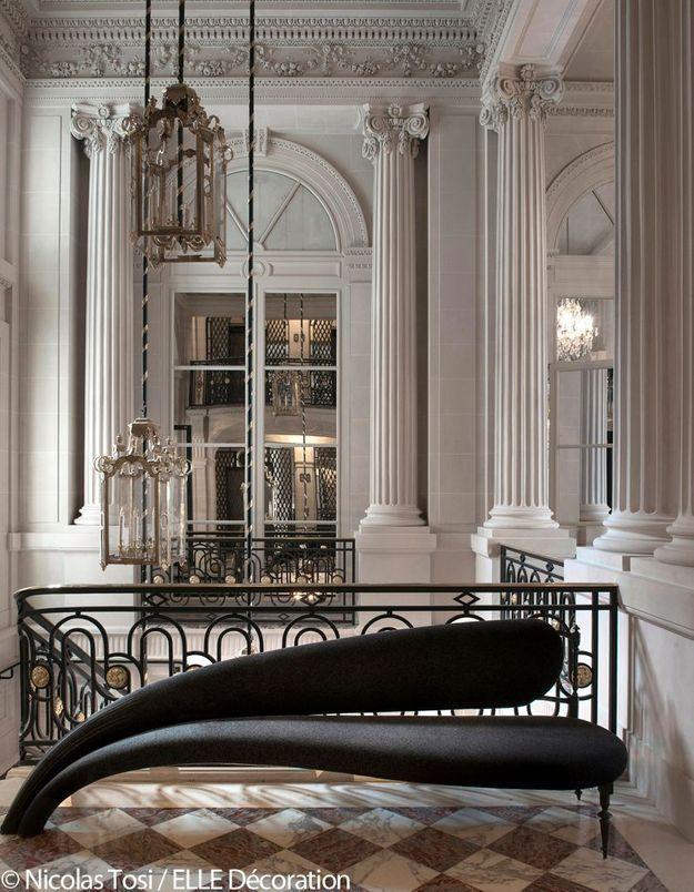 Hôtel de Crillon : l'escalier d'honneur