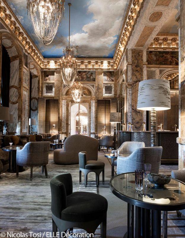 """Hôtel de Crillon : le nouveau bar """"Les Ambassadeurs"""""""