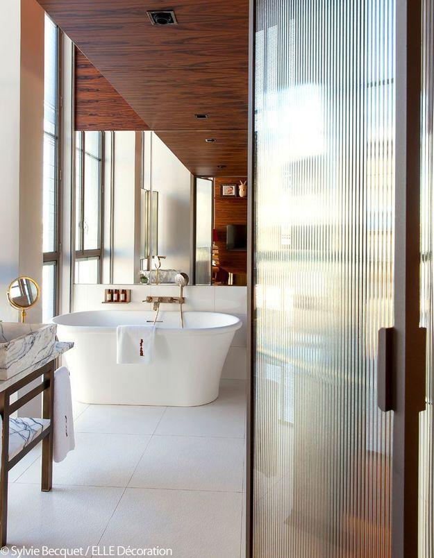 Une salle de bains élégante et maligne
