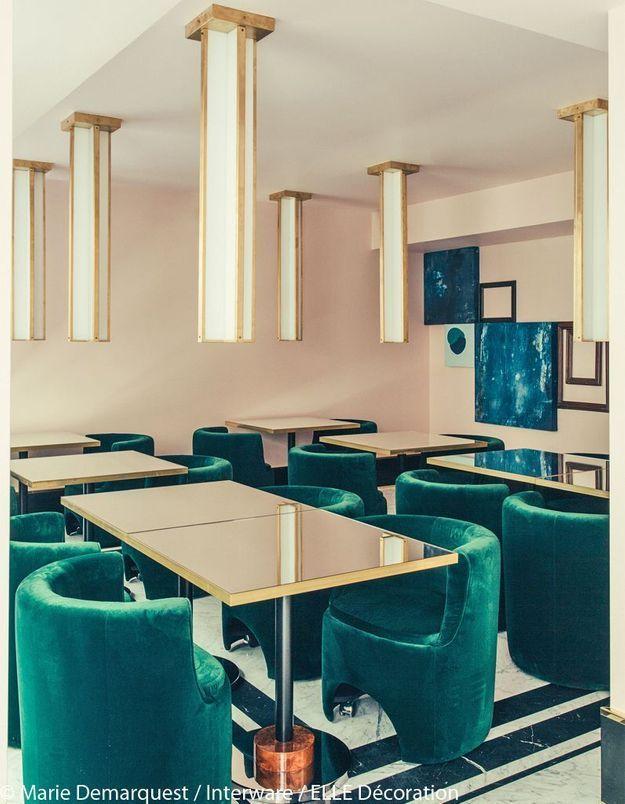 Le restaurant de l'hôtel Saint-Marc