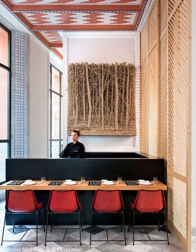Restaurant japonais à l'ambiance intimiste