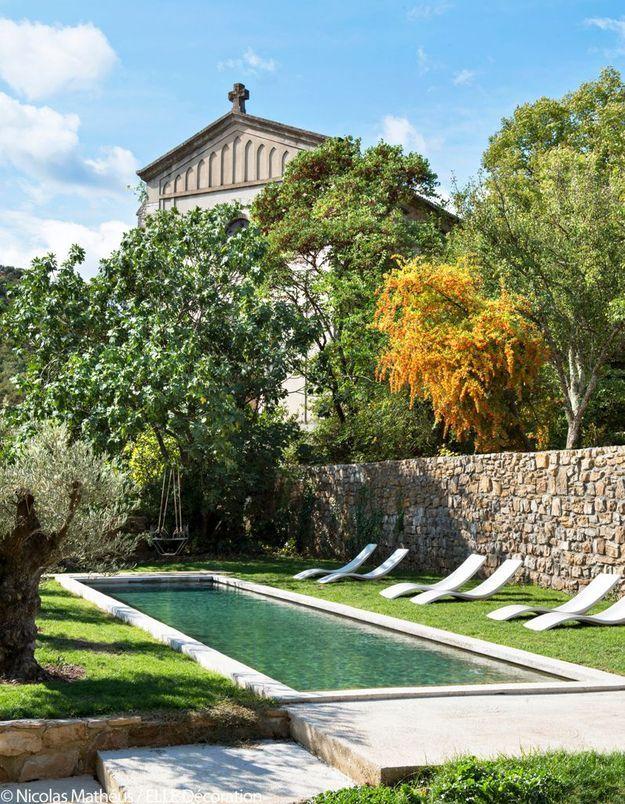 La piscine façon couloir de nage