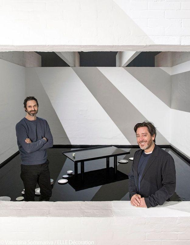 """Edward Barber et Jay Osgerby - Table """"Aes"""" pour Hermès"""