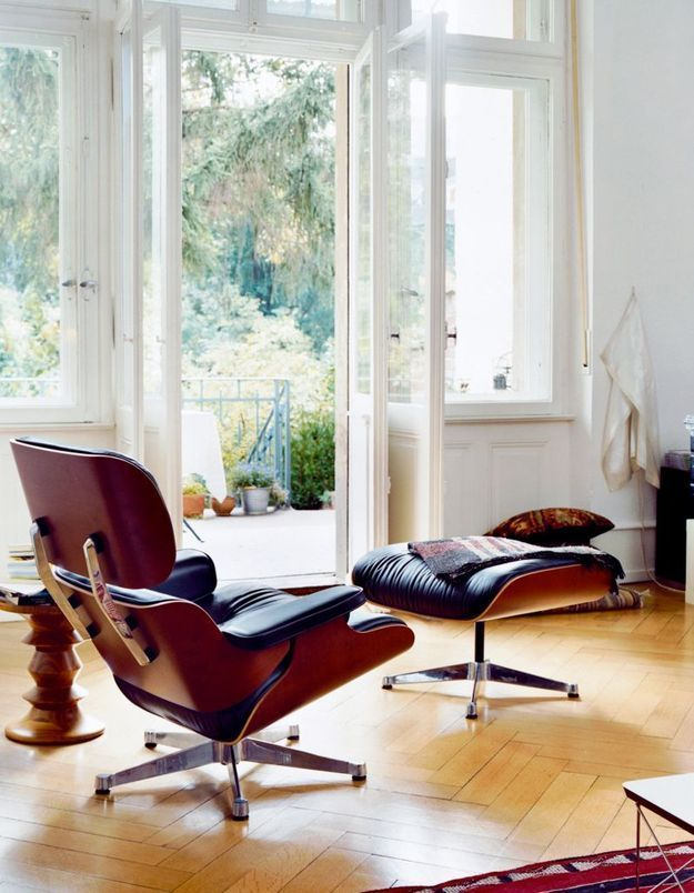 Fauteuil Lounge Chair (de Charles & Ray Eames / Vitra)
