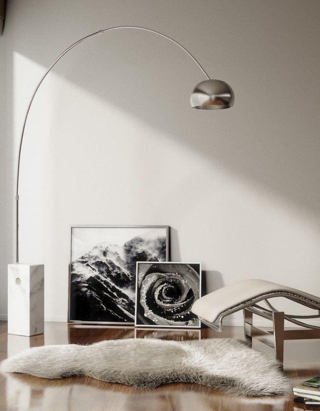 Lampadaire Arco (d'Achille Castiglioni / Flos)