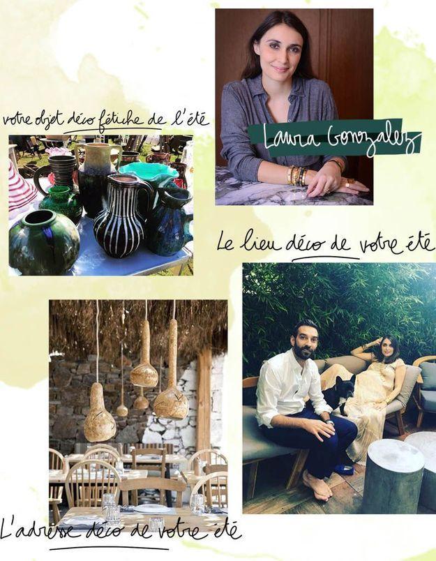 Les coups de cœur estivaux de Laura Gonzalez, architecte d'intérieur