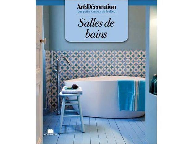 """Livre Art&Décoration : """"Salles de bains"""", format poche"""