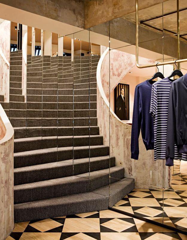La boutique AMI à Paris