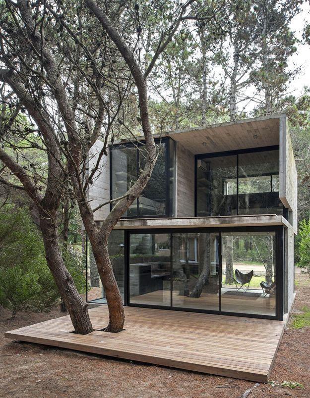 Une maison d'architecte intégrée à la nature à Buenos Aires