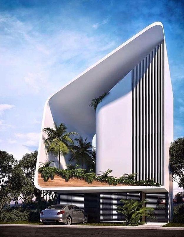 Une maison d'architecte ultra design à Cancun