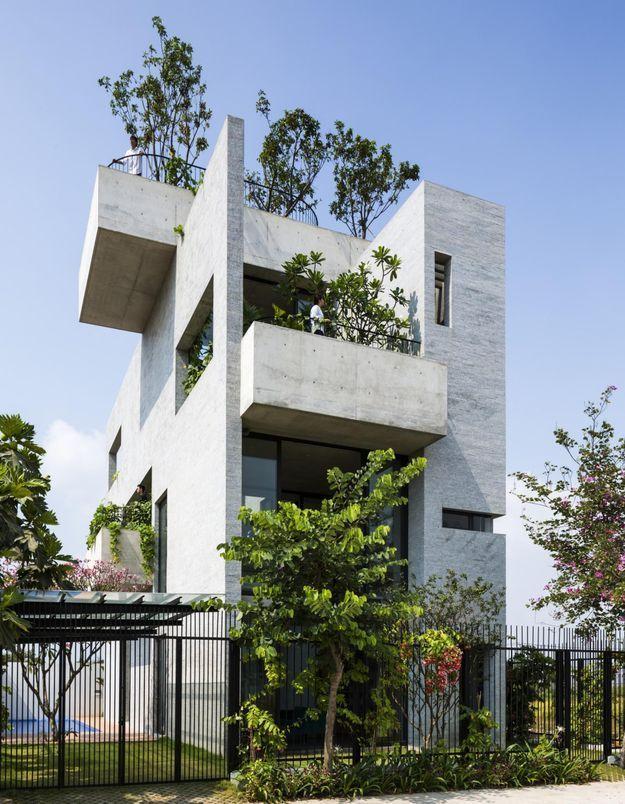 Une maison d'architecte très végétale à Ho Chi Minh