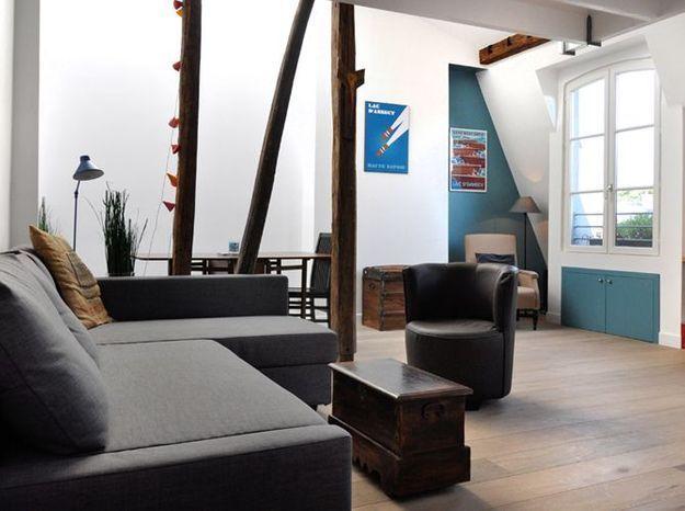 Après : une pièce à vivre aérée et design
