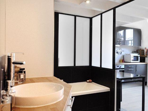 Zoom sur la salle de bains