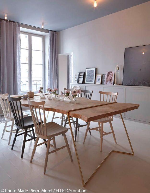 Table en bois brut
