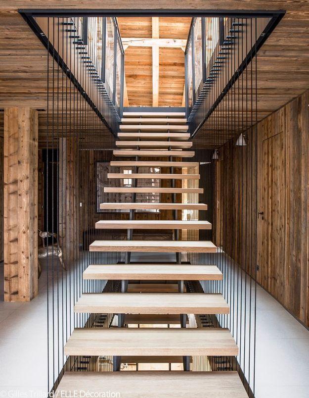 Escalier sculptural