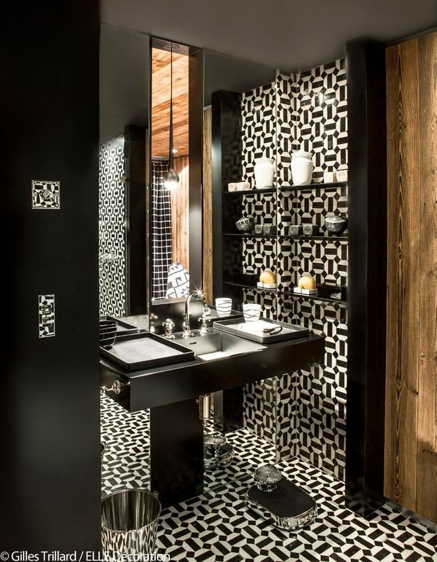 Salle de bains orientale