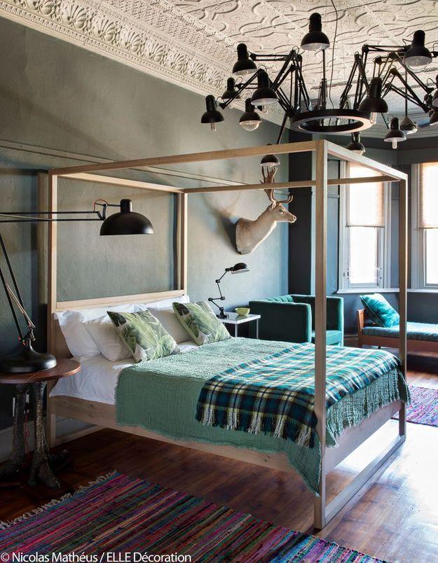 Chambre à coucher de caractère